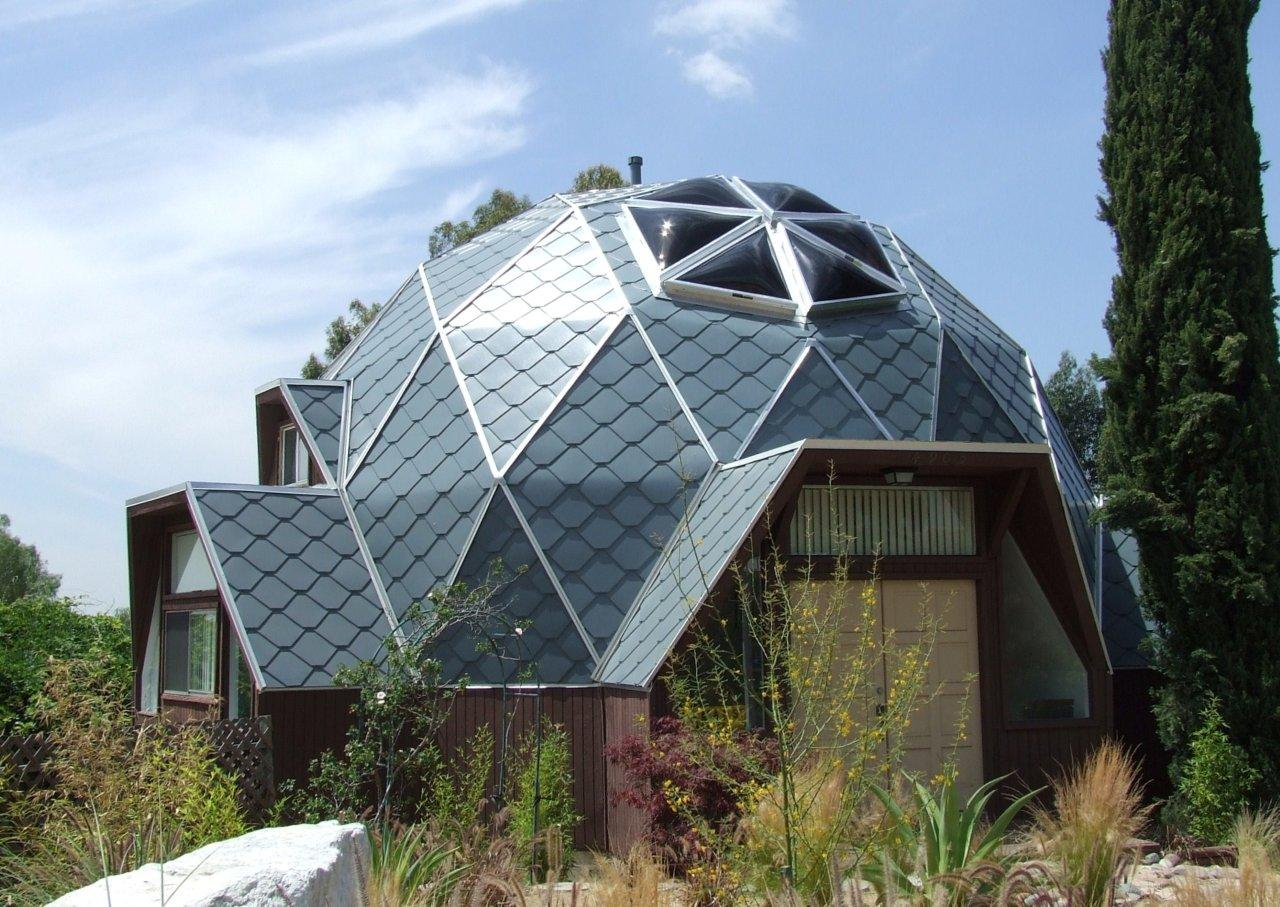 Geodesic Dome Greenhouse Construction