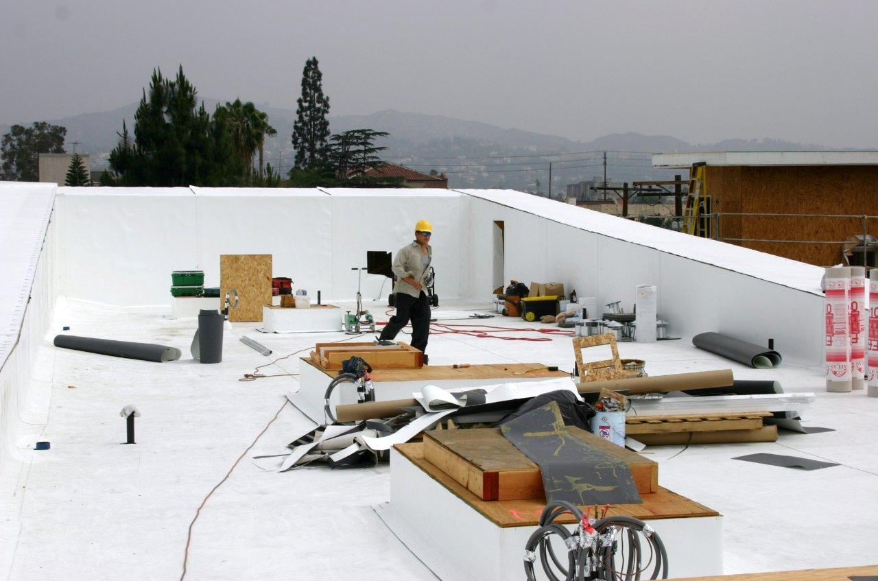 Tpo Single Ply System Fairweather Roofing Inc